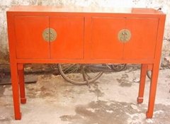antique reproduction side board