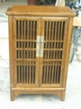 solid elm wood shoe cabinet