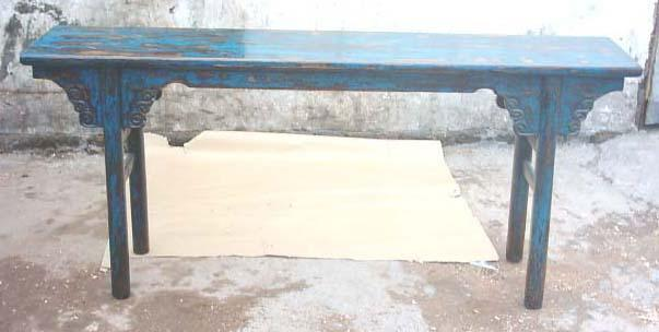 antique looking console table 1