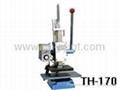 Manual  hot Foil stamping