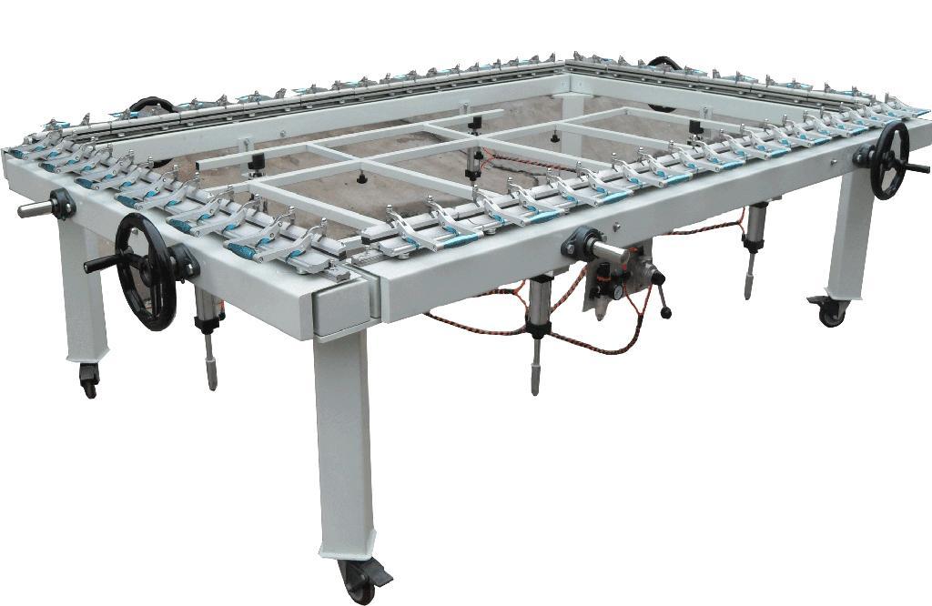 Silk Mesh Tighten machine TM-2500LA 1