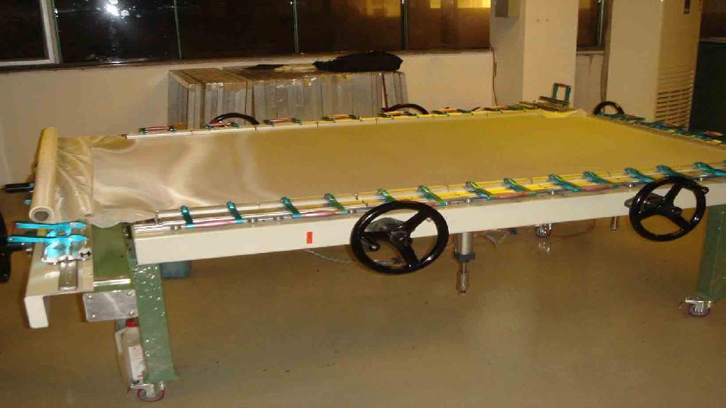 Silk Mesh Tighten machine TM-2500LA 3