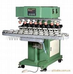 8-Colour Conveyor Belt & Ink cup Tampon Printer