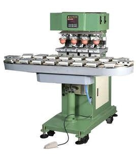 Large Size 4-Color Pad Printing With Conveyer  1