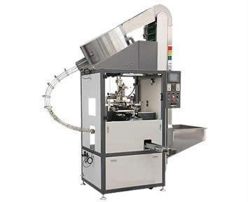 Full Auto 1-Colour Bottle-Cap Screen Print Machine
