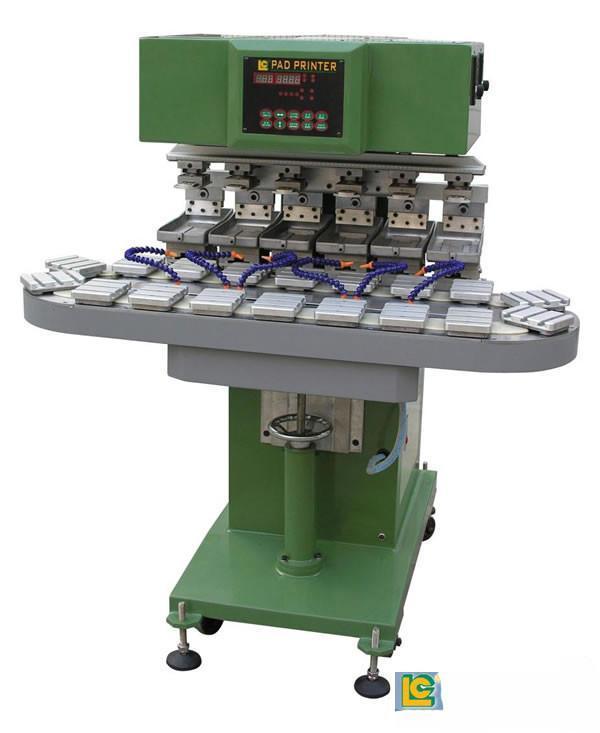 Six-Colour  Conveyor  Tampo  Printer   1