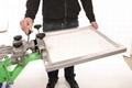 Plane  Glass  Surface Screen Printer