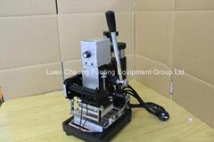TH-972 Card  Gold Blocking Machine