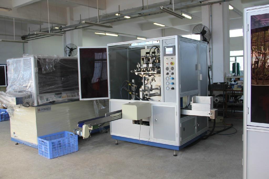 Automatic UV Screen Printer