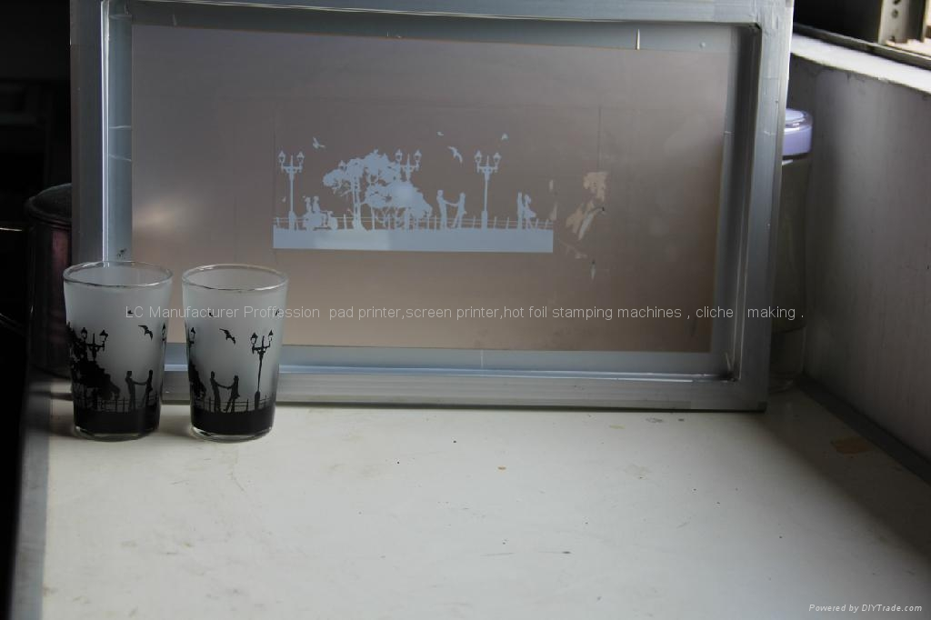 Pneumatic Cylindrical Screen Printer  11
