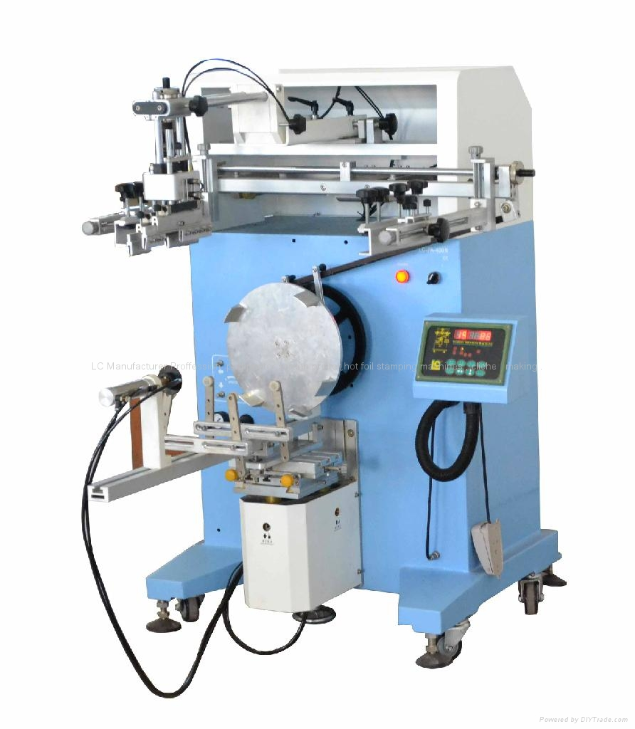 Mineral Water Bottle Screen Printing Machine 5