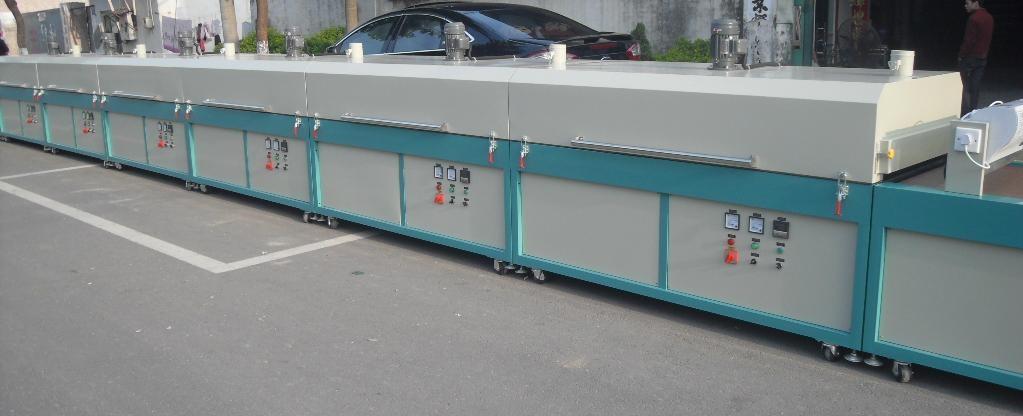 IR Drying Tunnel  Conveyer