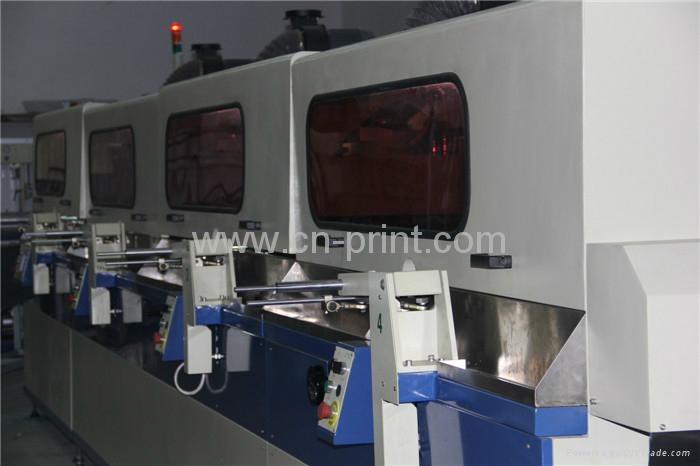 Automatic two colour cylinder UV Screen Printer 2