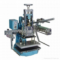 Edge gilding machine