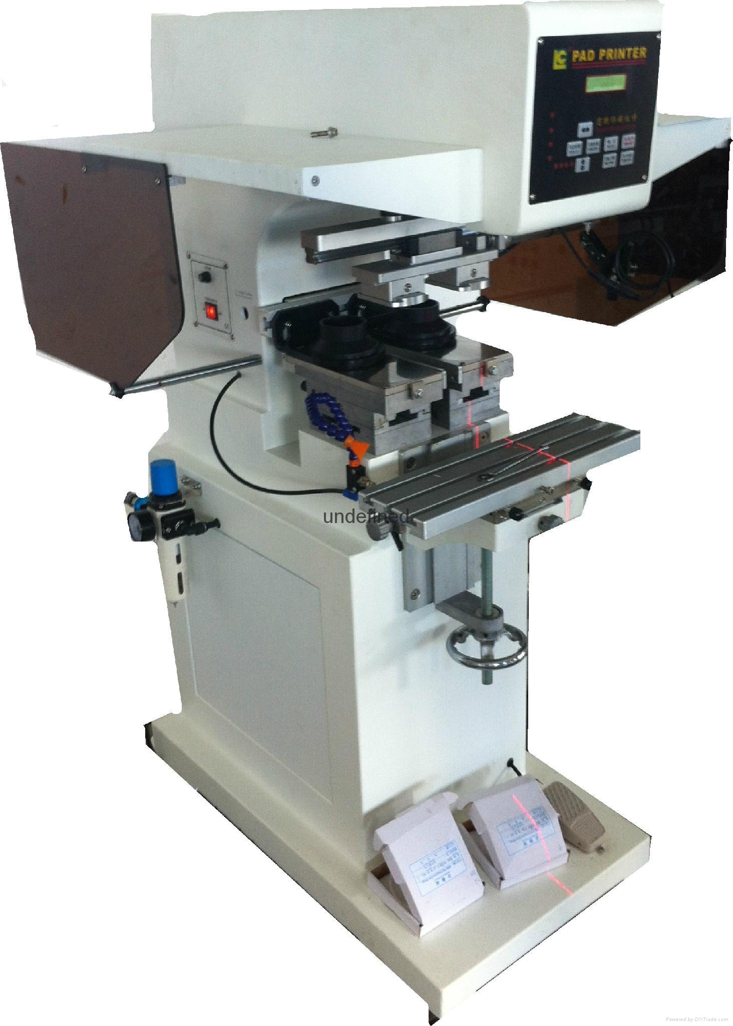 Color printer label - 2 Color Pad Printing Machine