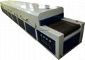 IR Hot Drying Tunnel IR dryer oven
