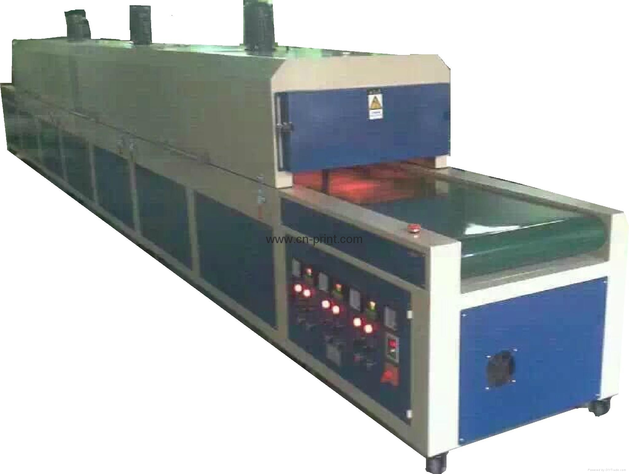 IR Hot Drying Tunnel IR dryer oven Drying Tunnel 3