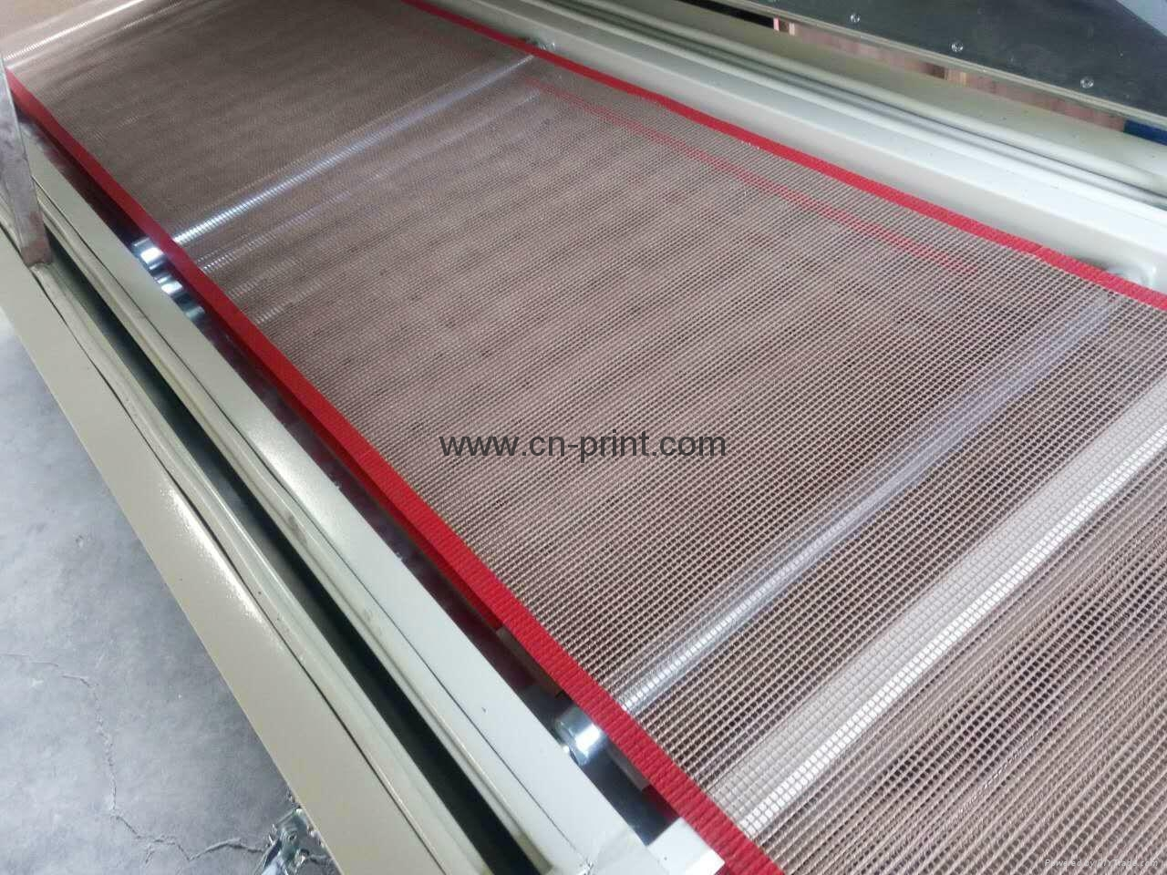 IR hot drying tunnel oven