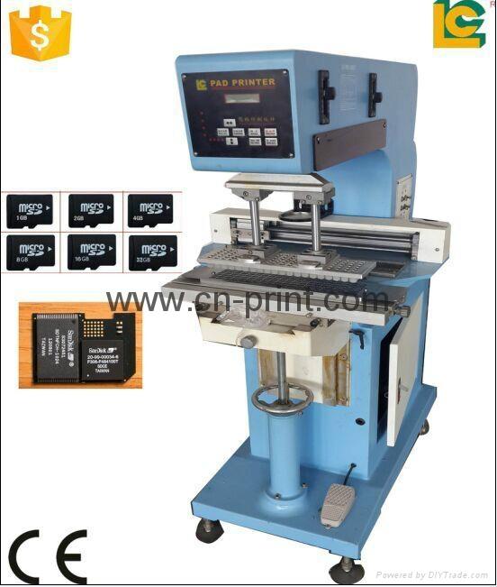 Single Transverse  Flow    Pad Printer 3