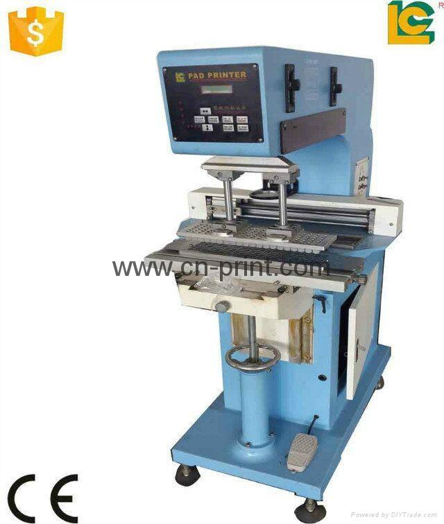 Single Transverse  Flow    Pad Printer 2
