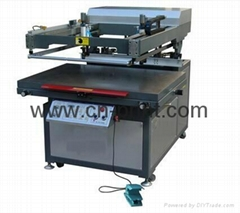 Oblique Arm Flat  Serigraphy Printer