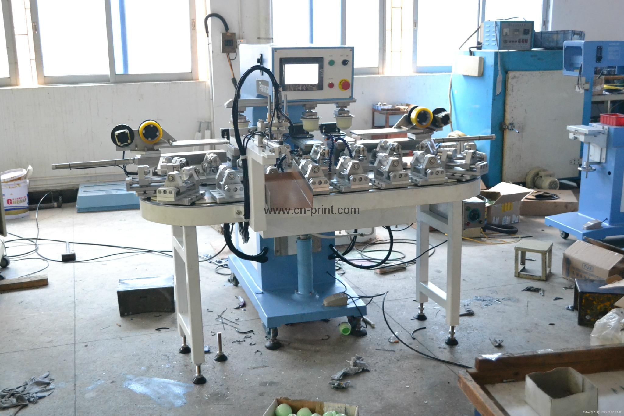 automatic 4 color pad printing machine for bottles 2