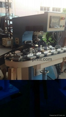 PLC 1- Color Sealed Ink Cup pad printing machine with conveyor and unloadingl