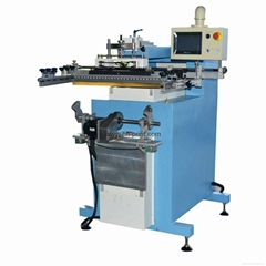 PLC high precision Servo system screen printing machine for aluminium panel