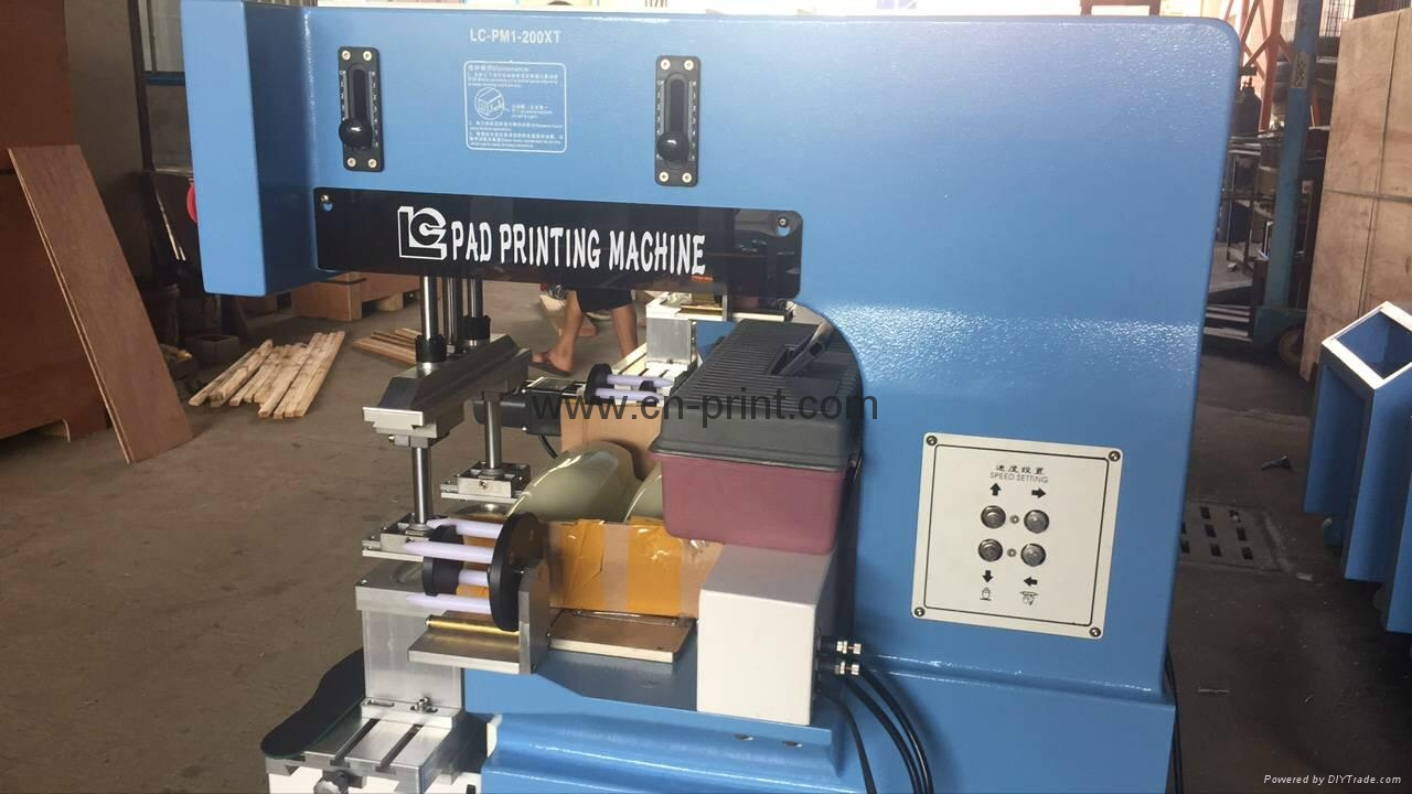 PLC System Transverse Flow Pad Printer for insole with pad cleaning system 6