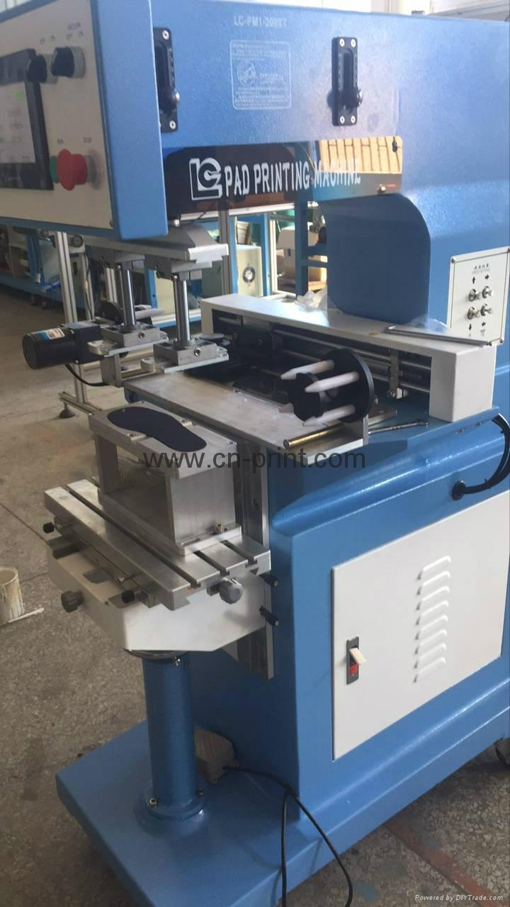 PLC System Transverse Flow tampografia for insole with pad cleaning system 3