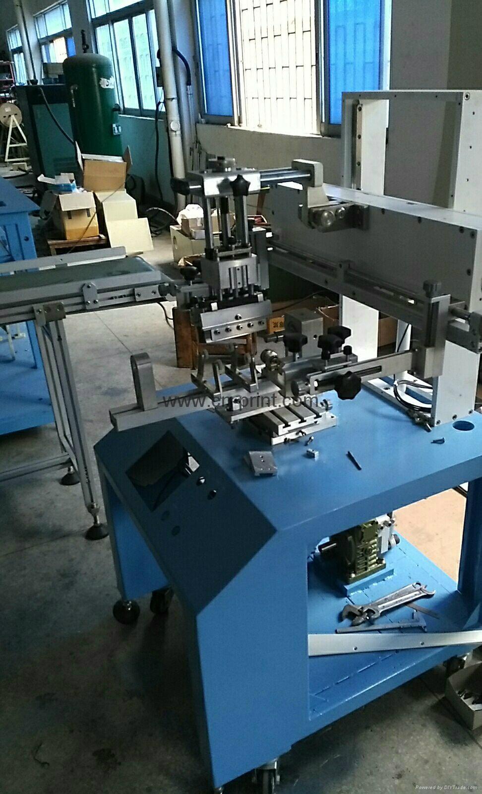 单色曲面丝印机 LC-PA-300 7