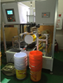 Painting bucket heat transfer printing machine with Drum fan film 4