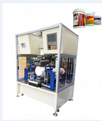 Painting bucket heat transfer printing machine with Drum fan film