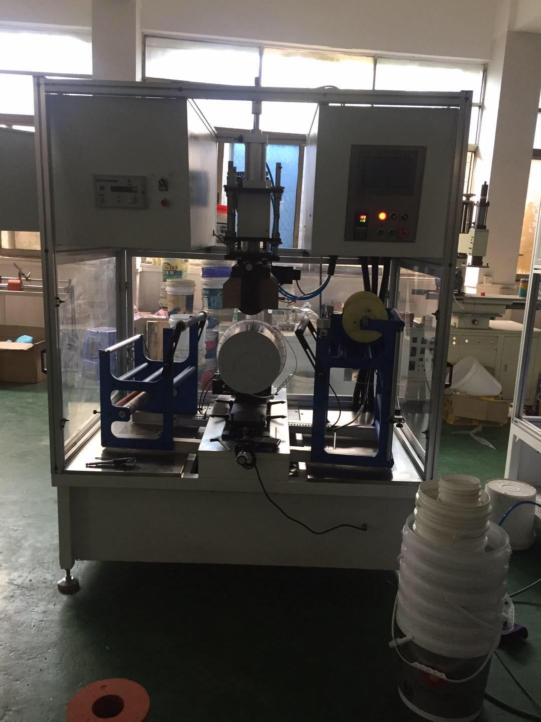 Painting bucket heat transfer printing machine with Drum fan film 13