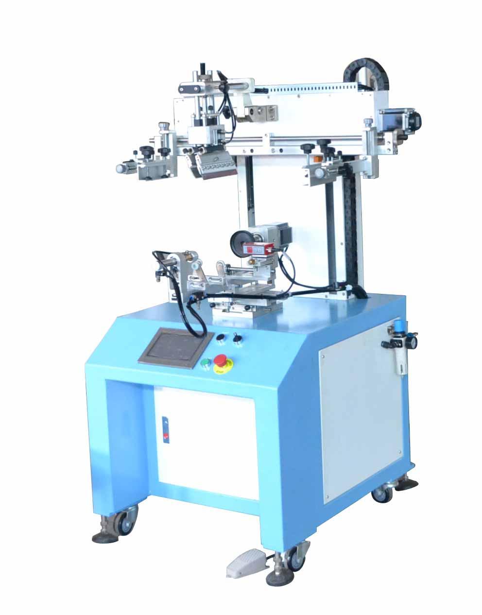 Servo system LC-PA-400ES Semi-automatic Screen Printer  2