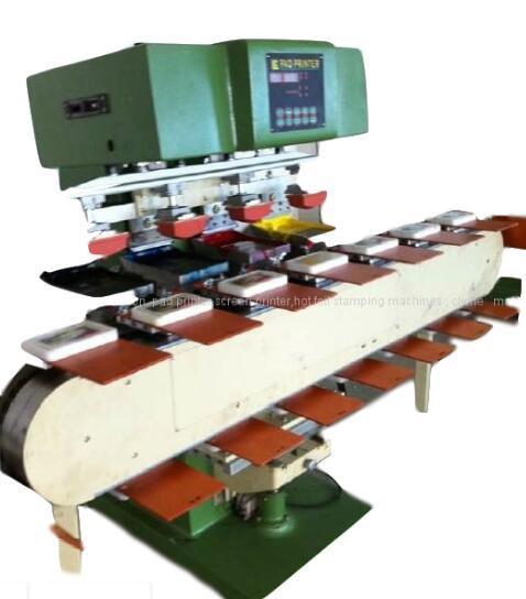 4-color open tray pad printer for big box 2