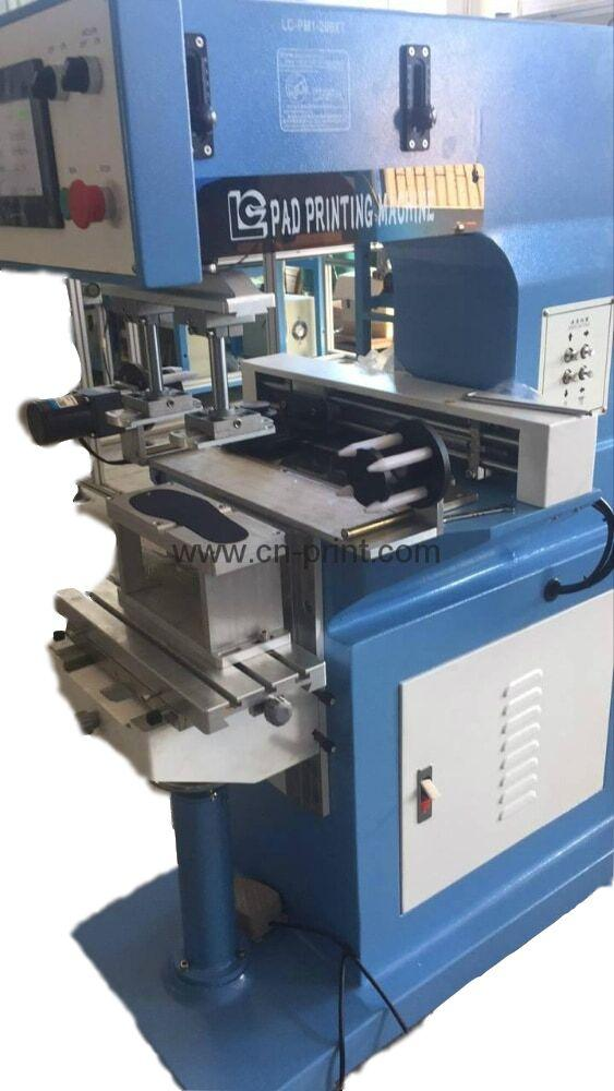 PLC System Transverse Flow tampografia for insole with pad cleaning system 14