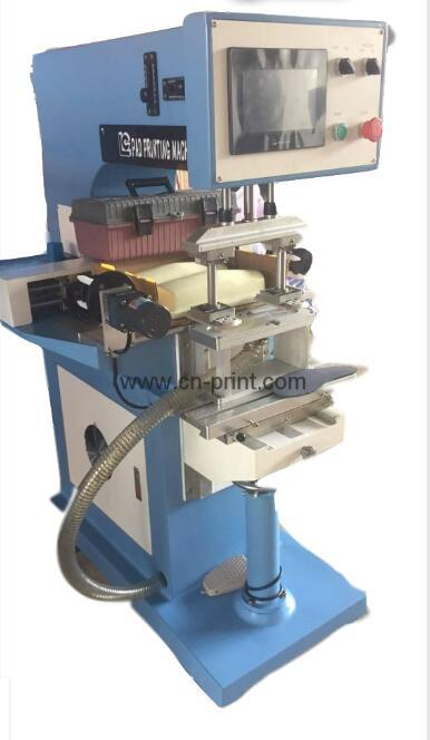 PLC System Transverse Flow tampografia for insole with pad cleaning system 1