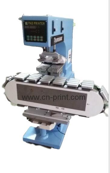 2-color pad printing machine with a tank station 1