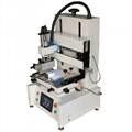 desktop flatbed screen printing machine