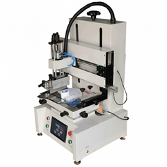 desktop flatbed screen printing machine