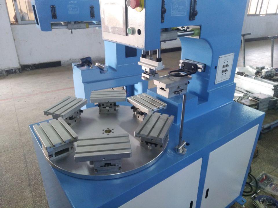 6 station rotary pad printing machine 3