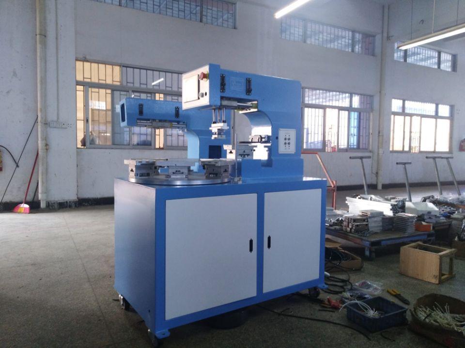 6 station rotary pad printing machine 4