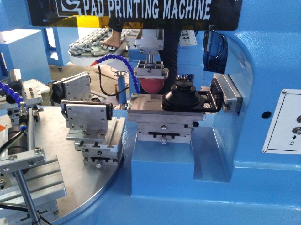 6 station rotary pad printing machine 7