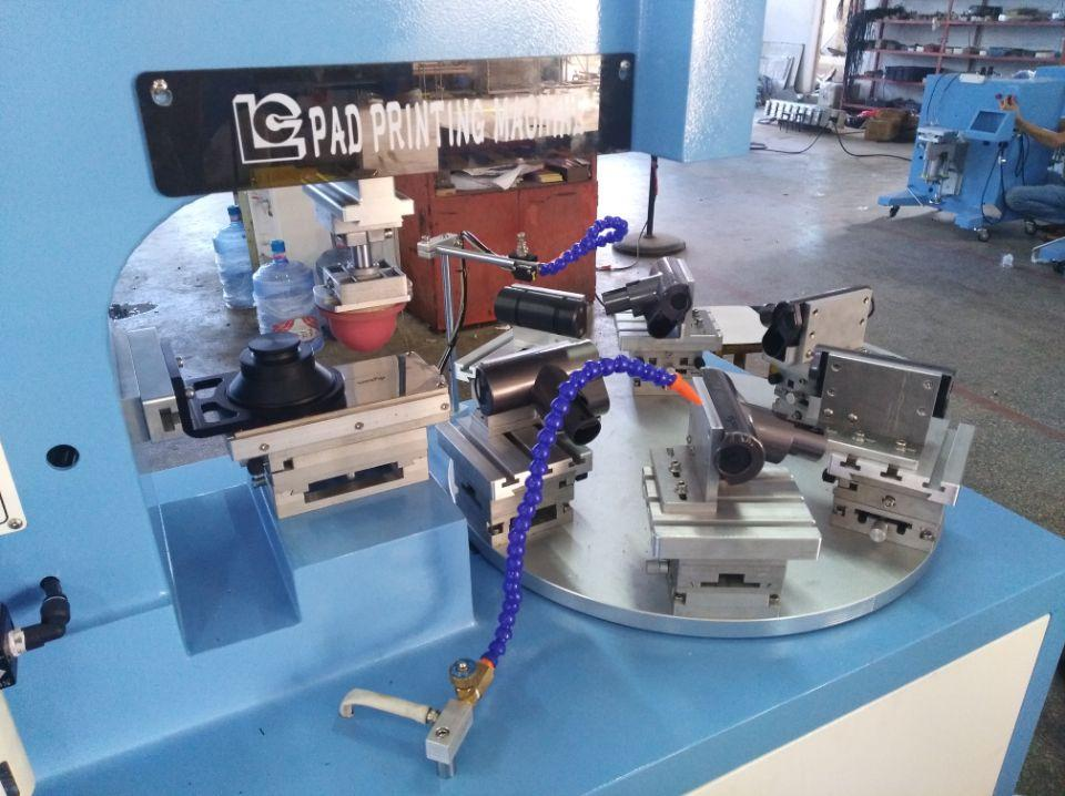 6 station rotary pad printing machine 8