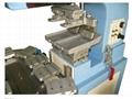 2-color pad printer with conveyer