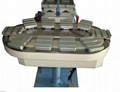 2-color conveyor belt pad printer