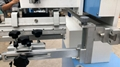 Flatbed Screen Printing Machine with rotary system for plastic box 3