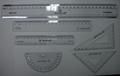 automatic flatbed plastic rulers stationary UV Flat silk Screen Printing