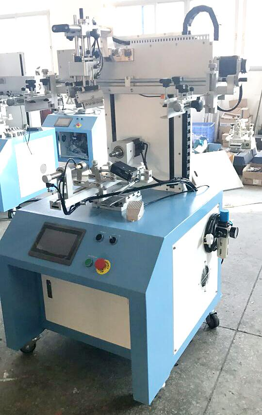 Servo system LC-PA-400ES Semi-automatic Screen Printer  4